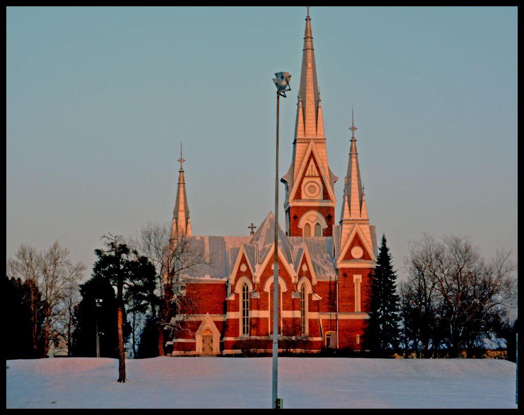 Joensuun kaunis kirkko